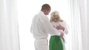 Throatin mormon teen fuck