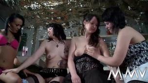 MMV FILMS German Dabbler Sapphist Teens
