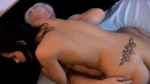 Superannuated and young girl ass movietures Bruce a sloppy old boy lov
