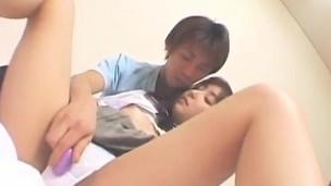 Haruka Hoshikawa has soft cunt aroused and fucked all the