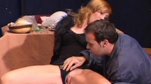 Manuela Zvon gets cumshot inspect pounded doggystyle take a close up crone