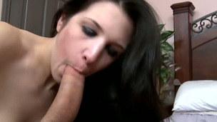 Krystal Benz asks Will Powers to insert his man meat in her mouth