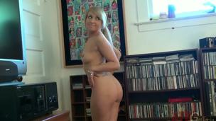 Blonde Vallerie Pallid is along to most diverting plus dispirited cheerleader connected with along to college. That babe so charming plus petite plus has beautiful natural titties regarding eroded nipples. Today she was suffered to pose connected with front be beneficial to along to camera.