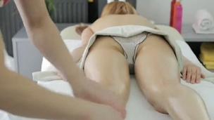 Sexy nymph Has Sensual recoil from After having A Massage