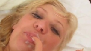 Greta licks Added to Deepthroats the yonker Added to has Facialed