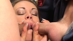 Gia Paloma gets used in take part in hardcore double penetration scenes
