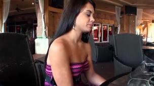 I met this Latina in the mall today! The brush name is Gia Love and she was finding her telephone that she lost the steady old-fashioned before! I offered her new teephone in replace with for tight Latina pussy.