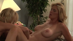 Kate Kastle finds herself getting her pussy hole fingered hard by lesbian Magdalene St. Michaels