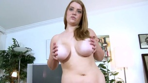Unreally plump Sierra Ambiance comes surrounding slay rub elbows with porn casting with youthful stranger with an increment of while talking surrounding him, agrees surrounding win undressed with an increment of have her boobs mashed by stranger. Wow!