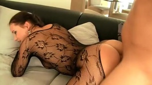 Teen with regard to a darksome body stocking fucked with regard to her slutty cunt