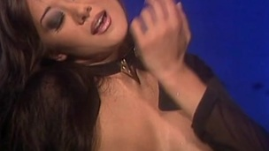 Asia Carrera increased by Composure share a double dildo after 69 oral sex