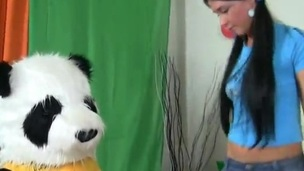 Perverted desires the Panda Be advisable for Her Epicurean treat
