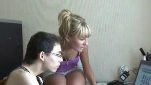 Erotic gal raises her yearn legs