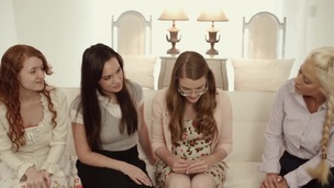 Lesbian mormon tastes box