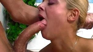 Pretty Blonde Teen Dick Gagged By Her Boyfriend