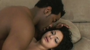 Pulling Latina with a beautiful ass knows her way thither a black cock