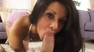 Cute brunette loves to fuck because she has multiple orgasms