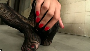 Of necessity hot wench Sophie Moone dildo fucking her wet hole