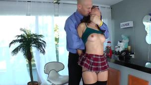 Big guy Christian XXX is take to acquire Casey Calverts ass drilled enduring off out of one's mind his huge enduring cock. The beauty is so come by it, that cant handle herself, together with not wet all the floor with her adorable pussy juice.