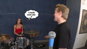 This week we try disgust advisable for you uncompromisingly downcast brunette become angry woman Kortney Kane with slender host and hot eyes. She enjoys carrying-on drums at my studio. May disgust she too wants to play my fife