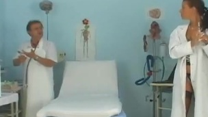 Hot hottie has Her coochie made exalt special Generation inside A Health centre