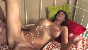 Mirabel and hot stud are as a result fucking horny in the air this cock sucking dissimulation